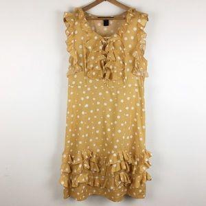 Marc by Marc jacobs | polka dot mustard dress 0877
